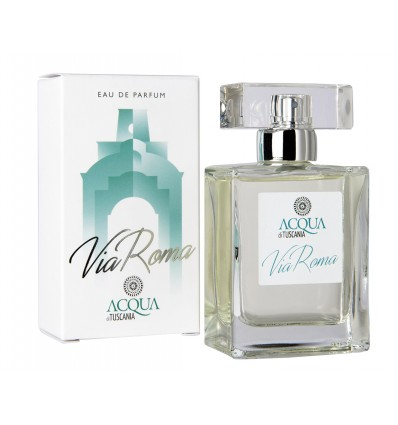 "ACQUA DI TUSCANIA - ""VIA ROMA"" UNISEX 50 ml."